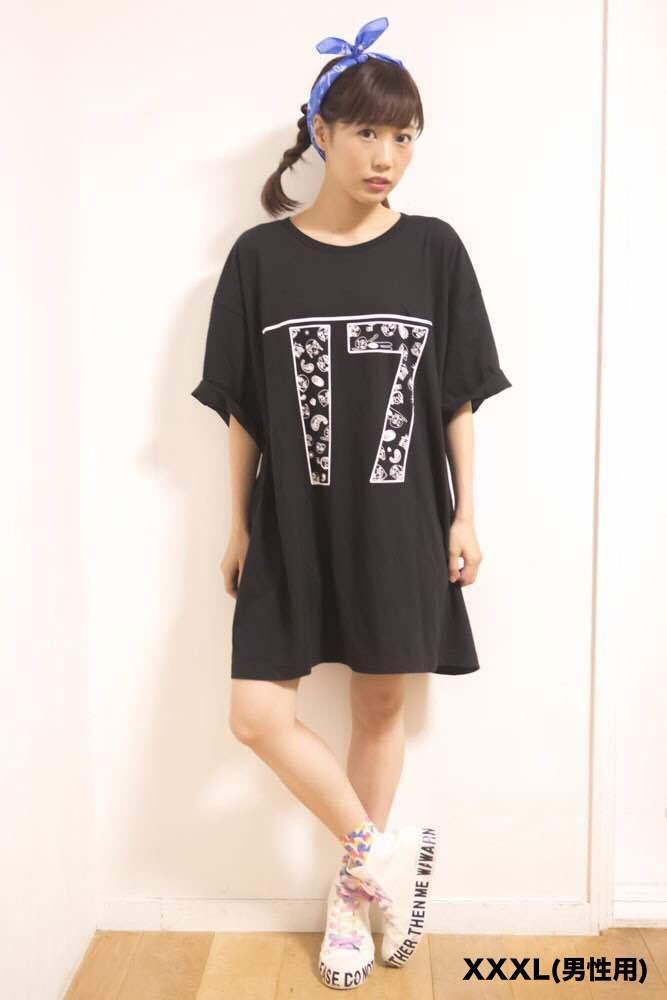 楠田亜衣奈デザインBIG Tシャツ (XXXLサイズ)