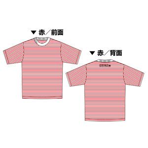 Tシャツ 赤ボーダー