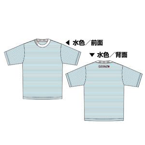 Tシャツ 青ボーダー