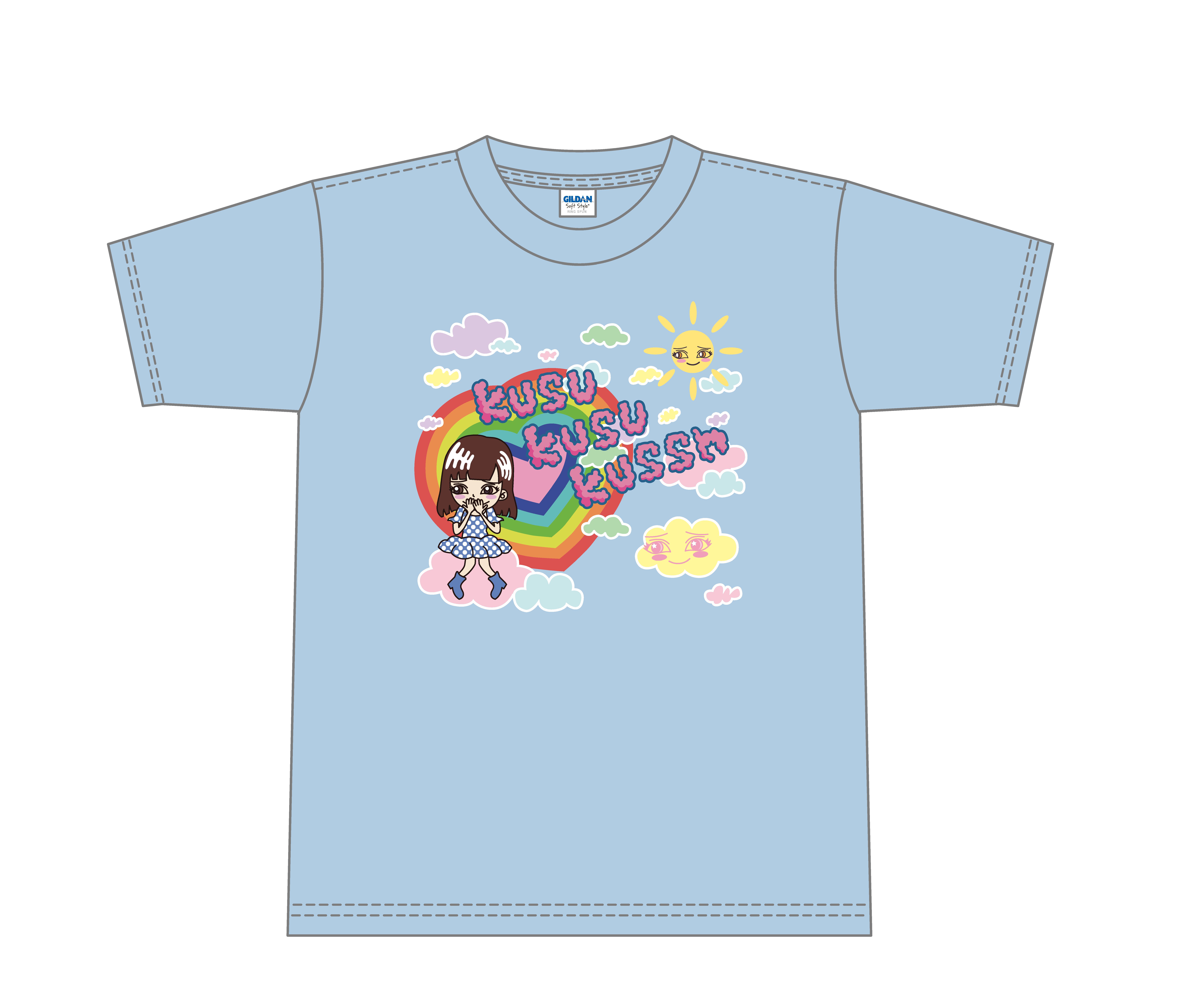 楠田亜衣奈デザインオリジナルTシャツ