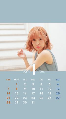 CALENDAR 2018.1 Smartphone